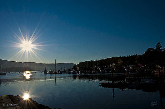 Sun Over Harbour by Diane C Nicholson
