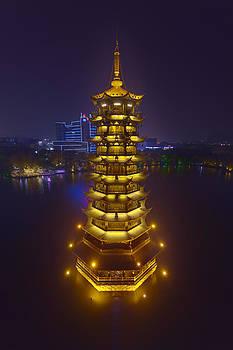 Sun Pagoda by Angel Sosa