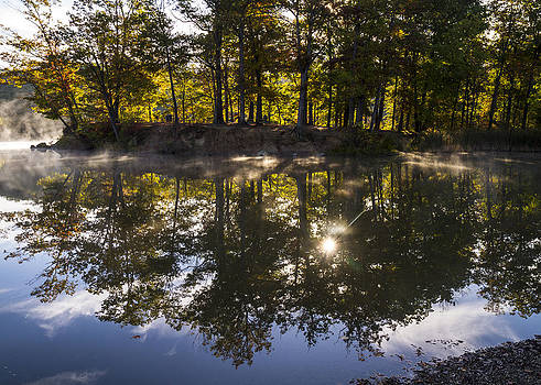 Sun Reflections  by Tim Fitzwater