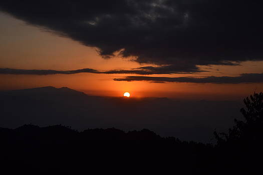 Sun rise over Himalaya by Atul Daimari