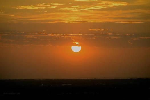 Sun Set Over SA by Shawn Marlow