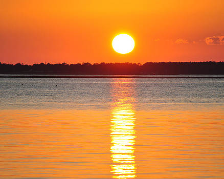 Sun setting over Beaufort by James Lewis