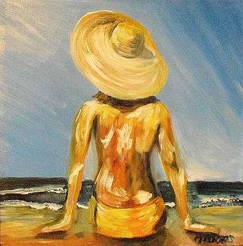 Sunbathing by Melissa Torres