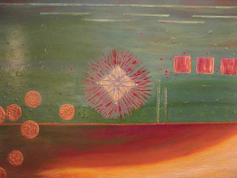 Sunburst Centre by Gail Stivers