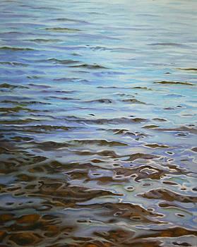 Sunday Morning Huntley Pond by Jason Sawtelle