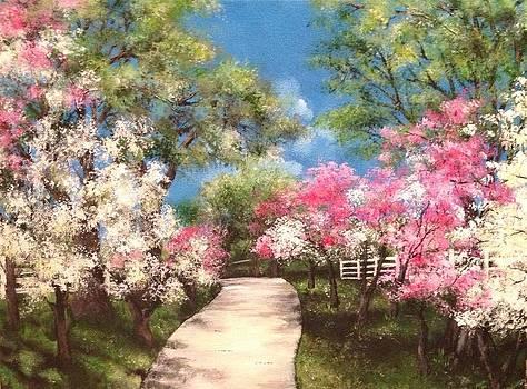 Sunday Stroll by Sabrina Logan