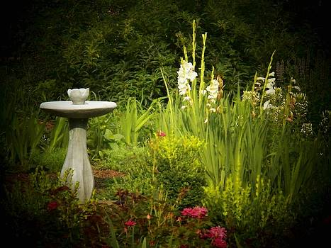 Sundial Garden by Joyce Kimble Smith
