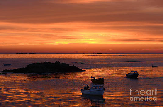 Sundown in Guernsey by Rob Smith