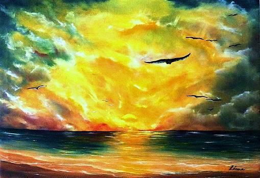 Sundown by Liana Horbaniuc