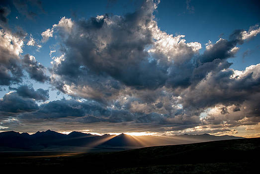 Sundown over Horn Peak by Shanna Lewis