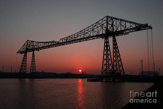 Sundown Over The Tees by Rob Smith