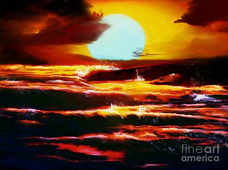 Sundown by Persephone Artworks