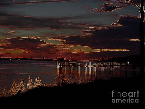 Sundown The Intracoastal by Andy Englehart