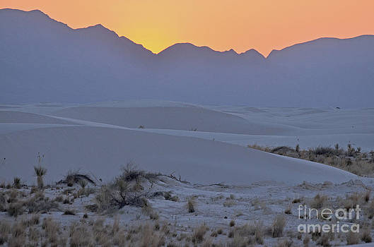Sundown White Sands  by Judy Grant