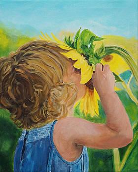 Sunflower Annie by Frankie Picasso