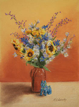 Sunflower Bouquet by Marna Edwards Flavell