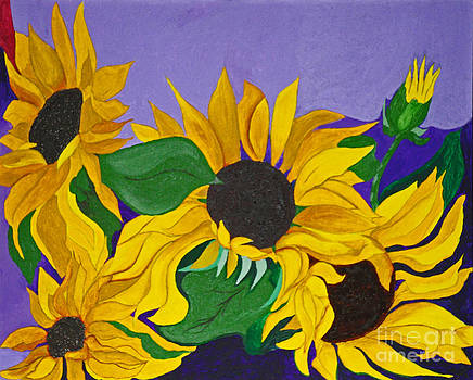 Sunflower Glimpses of God's Goodness by Anne Gitto