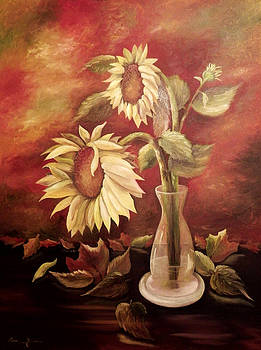 Sunflower Glory by Laura Brown