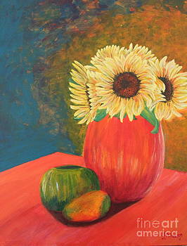 Sunflower by Lee Ann Newsom
