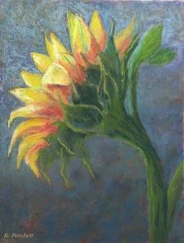 Sunflower One by Regina Calton Burchett