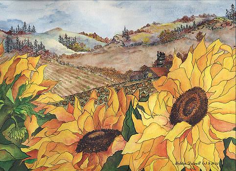 Sunflower Serenity by Meldra Driscoll