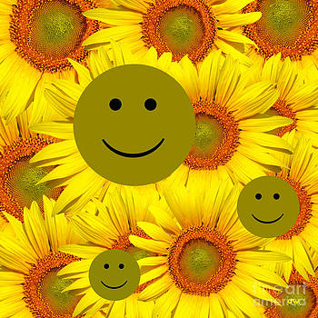 Sunflower Smiles by Darnell Wicks