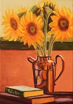Ruth Soller - Sunflower Still Life