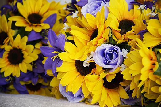 Sunflower Wedding by Cassandra NightThunder