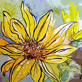 Ginette Callaway - Sunflower Yellow Ribbon
