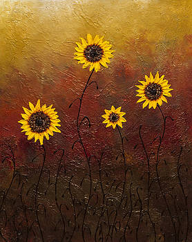 Sunflowers 3 by Carmen Guedez
