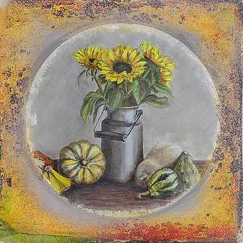 Gynt Art - Sunflowers and pumpkins