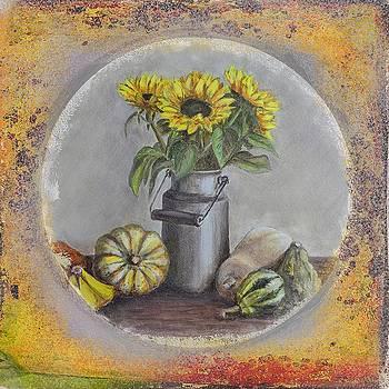 Gynt Art - Sunflowers and pumpkins