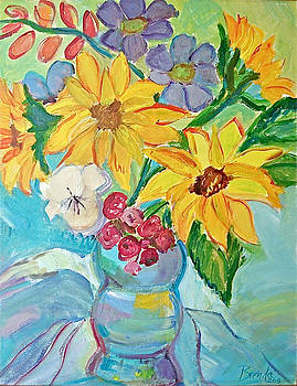 Sunflowers by Brenda Ruark