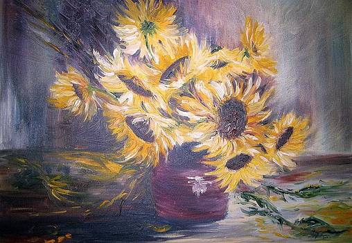 Sunflowers by Christa Friedl