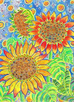 Sunflowers for Jenn by Kacy Cope