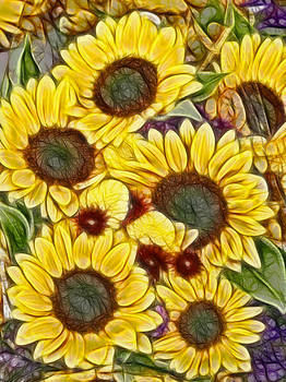 Maria Holmes - Sunflowers for The Master