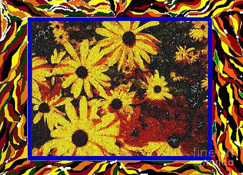 Sunflowers in the Park by Lewanda Laboy