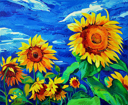 Sunflowers by Ivailo Nikolov