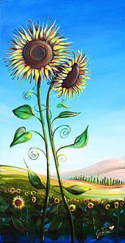 Sunflowers by Jennifer Treece