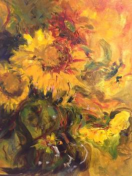 Sunflowers  by Karen Carmean