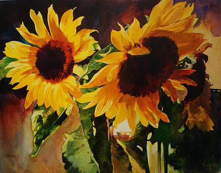 Sunflowers by Karen Vernon