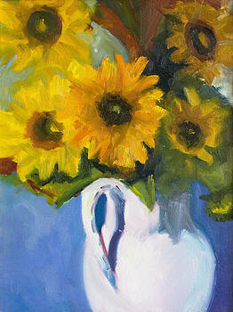 Sunflowers by Linda Rosso
