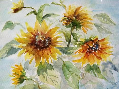 Sunflowers by Lynn Cheng-Varga
