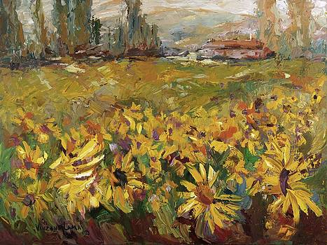 Sunflowers by Nancy LaMay