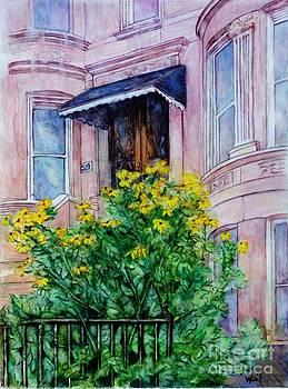 Nancy Wait - Sunflowers on 9th Street