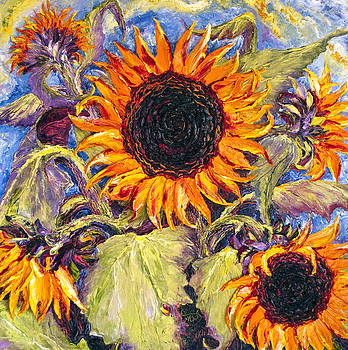 Sunflowers by Paris Wyatt Llanso