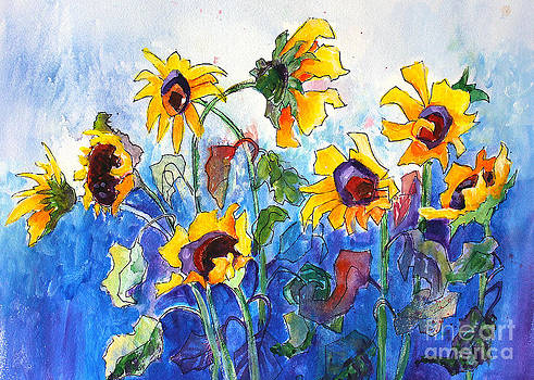 Sunflowers by Priti Lathia