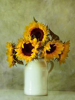 Sunflowers by Sandra Pledger
