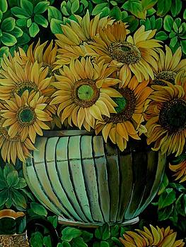 Sunflowers by Sonia P