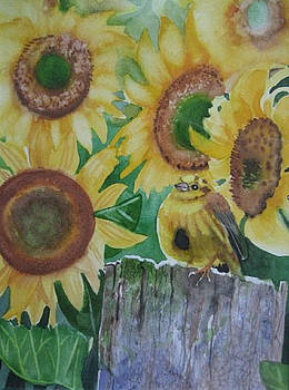 Sunflowers by Stephanie Zobrist
